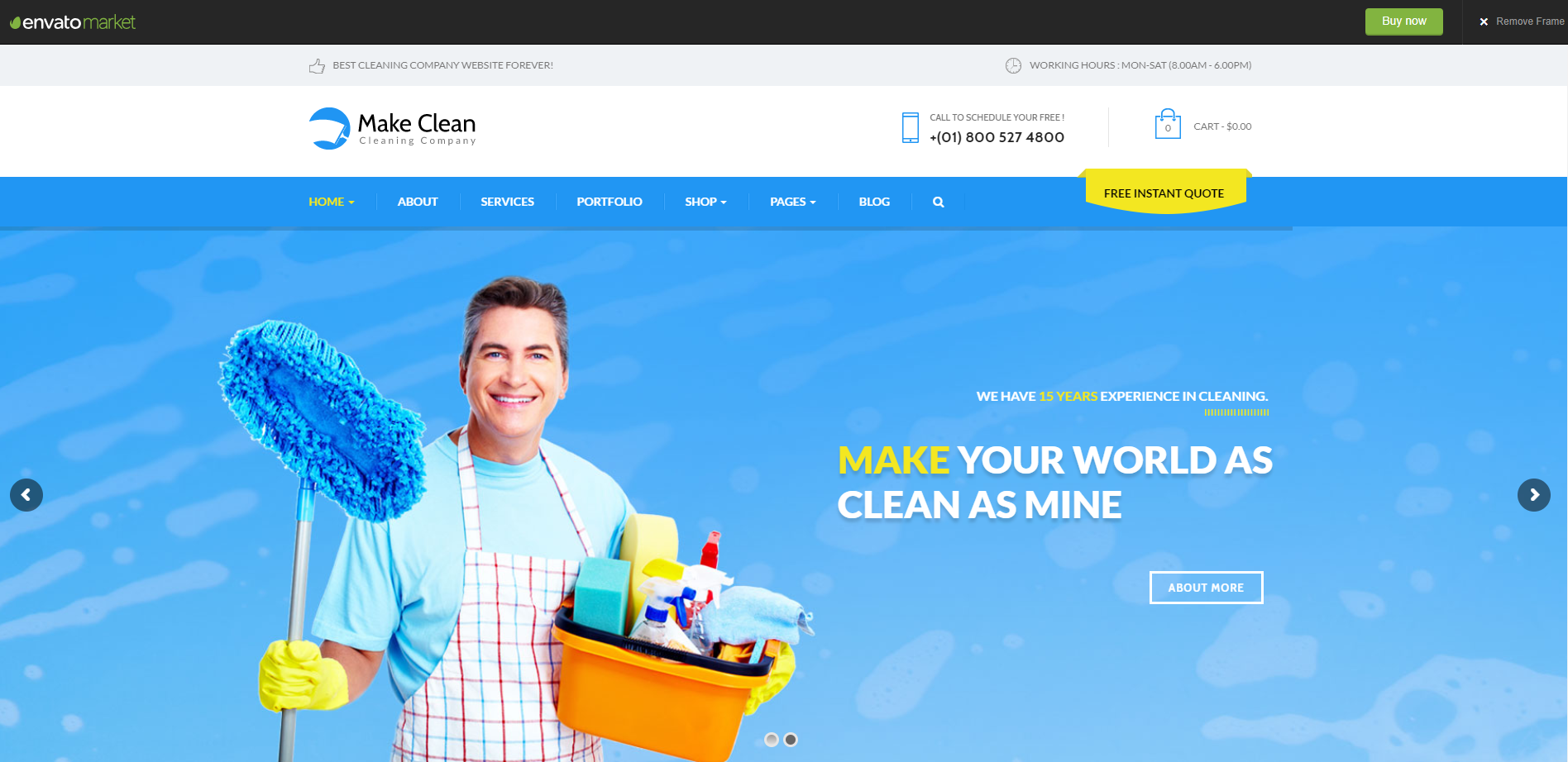 Make-Clean-Cleaning-services-theme