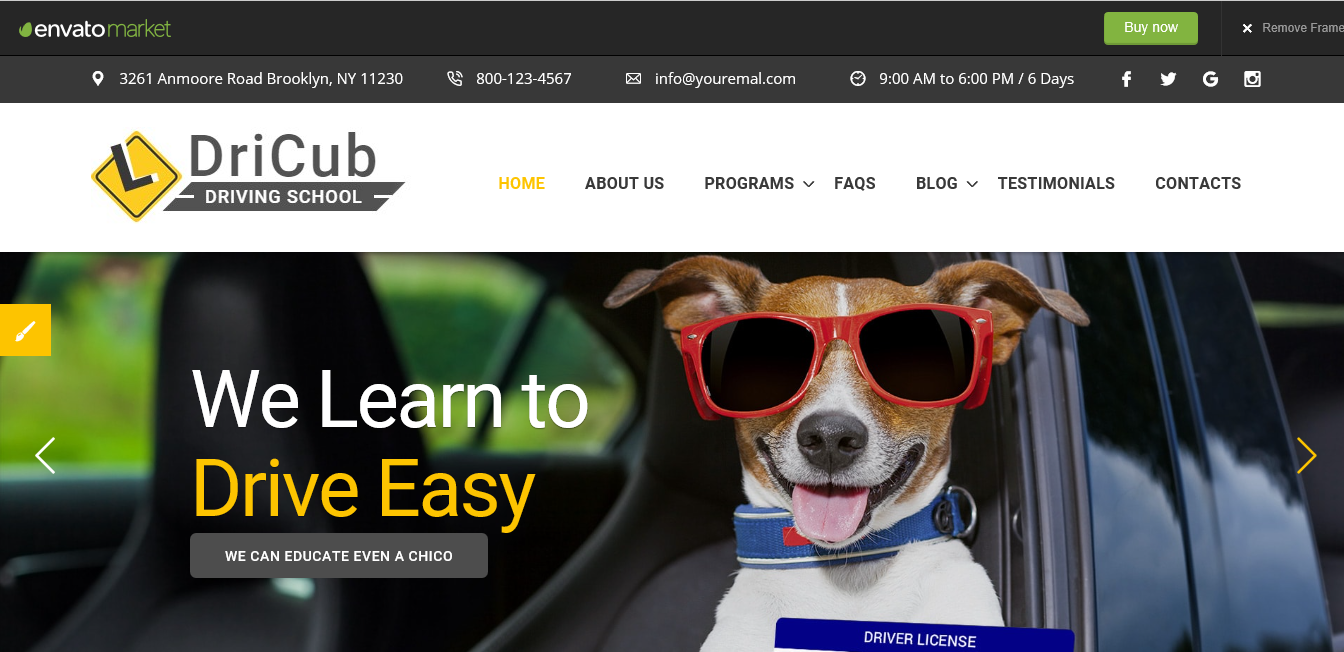 Best-Driving-School-WordPress-themes