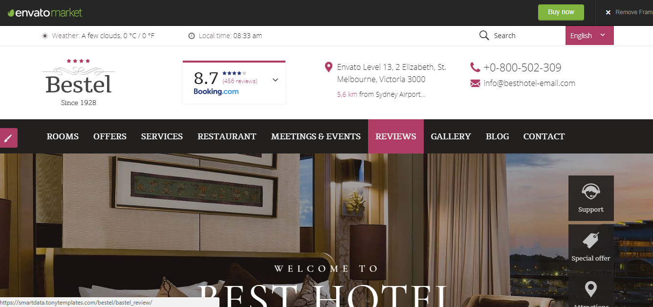 bestel-hotel-booking-wordpress-theme